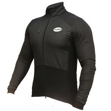 Zimco Pro Men Cycling Jacket Winter Cycling Biking Windbreak Jersey Black 1152
