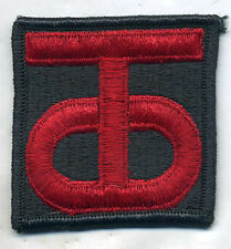 Vintage US Army 90th Infantry Division Color Patch