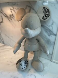 Daniel Arsham x APPortfolio Mickey Mouse Plush Figure (Regular) 47cm