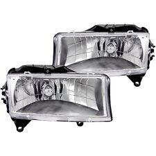 ANZO Crystal Headlights Chrome For Dodge Dakota 97-04 / Durango 98-03 #111021