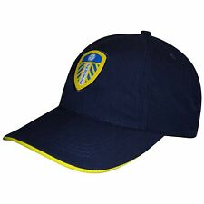 Official Adults Leeds United Baseball Cap (100% Polyester & Adjustable)