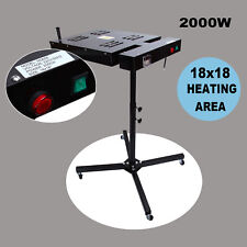 """18 X 18"""" Flash Dryer Silk Screen Printing T-Shirt Curing Adjustable Stand Height"""