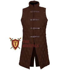 Medieval Thick Padded Costumes Dress Gambeson Vest Sca Suit for theater Armor