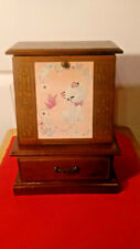 Vintage Jewelry & Music Box for Young Girl - Made in Japan