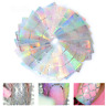 24/12 Sheets Laser Hollow Nail Art Vinyls Stencil Stickers Stamping Decoration