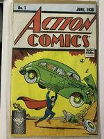 Action Comics #1 (DC, June 1988) 50 YR Anniversary Reprint of 1938 Issue!