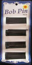 36 Pcs Black Bobby Pins Hair Clips Grips Salon Dance School Hairpin Barrette Bob