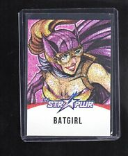 2018 Cryptozoic DC Bombshells 2 ST08 Star Pwr RED Batgirl card.