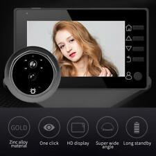 4.3'' LCD Digital Doorbell 145° Electronic Door Viewer Peephole Camera Door Bell