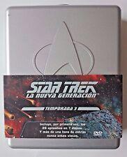 STAR TREK: LA NUEVA GENERACIÓN - EDICIÓN COLECCIONISTA TEPORADA 3 - 7 DVDS