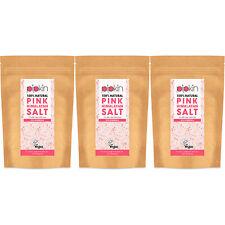 Pipkin FINE Pink Himalayan Salt 100% Natural Edible Unrefined 500g / 1KG / 1.5KG