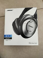 Bose Noise Cancelling Headphones Silver Quietcomfort  15 *Empty Box Only*