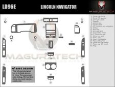 Fits Lincoln Navigator 2007-2014 4WD With Navigation Basic Wood Dash Trim Kit