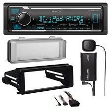 FLHX Harley 98-2013 Install Kit, Bluetooth USB Car Radio, Radio XM Tuner, Cover