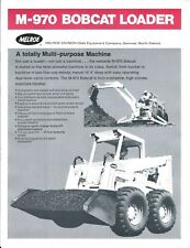 Equipment Brochure - Bobcat M-970 Skid Steer Loader - Ram Hammer 2 items (E4312)