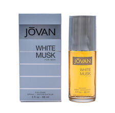 Jovan White Musk by Coty Cologne for Men 3.0 oz New In Box