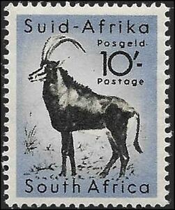 Union of South Africa - Wildlife Animals - Definitive - 1954, MNH /Used