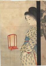 UW»Estampe originale japonaise Keishu - 23