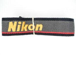 #1 Nikon NS-1 Black / Grey / Yellow / Red Camera Neck Strap For SLR / DSLR