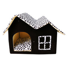 HOT Soft Cave Luxury Dog Cat Bed House Warm Mat Snug Puppy Bedding Cute Home