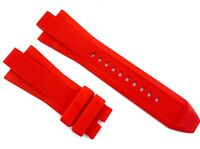 13x29mm Red Rubber For Michael Kors MK9020 Watch Strap MKR104