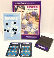 Intellivision Reversi Game Complete in Box