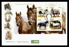 DR WHO 2011 IRELAND HORSES S/S FDC C187275