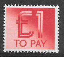 GB POSTAGE DUES 1982 M.N.H. SG D99.