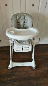 Steelcraft Messina Deluxe High Chair, Dove, Very good condition.