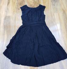 BODEN LADIES GORGEOUS DRESS (WH700 ) SELINA BLACK UK 8P. Excellent condition.