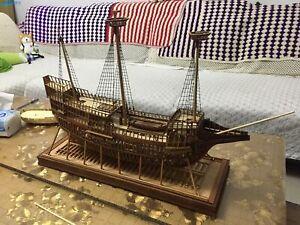 """Mayflower 1:48 31""""  788 mm POF model Wooden Model Ship Kit"""