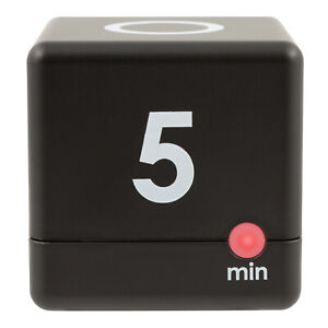 919-186-30BLK La Crosse Technology 5, 10, 15 or 30 Minutes Cube Timer - Black