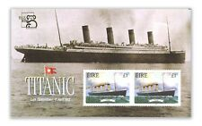 Ireland 1999 Titanic Stamp Miniature Sheet With Australia 99 Expo Overprint MUH