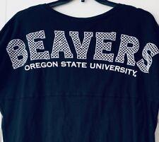 Oregon State University Beavers T-Shirt Nwt Womens Large Venley Black