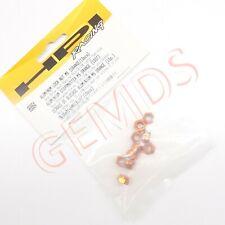 HPI Baja 5B / SS / 5T / 5SC Aluminum M5 Lock Nut Orange (10) 95864