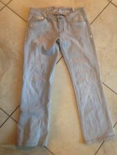 Sale Armani Exchange Gray Jeans 2 Low Cut Waist 28x26 W/ Crystals