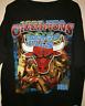 New Vintage 1997 Chicago Bulls Rap Bootleg Black T-Shirt Reprint FREESHIPPING