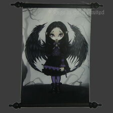 *PURPLE PAPER HEARTS* Strangeling Fairy Art Scroll By Jasmine Becket-Griffith
