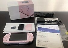 Used PSP-3000ZP PSP Playstation Portable Blossom Pink Sony Good Condition Japan