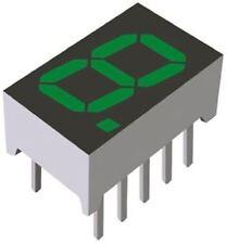 ROHM LA-401MD 7-Segment LED Display, CA Green 16 mcd RH DP 10.2mm