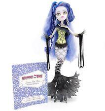 Monster High SIREN VON BOO Doll Freaky Fusion Hybrid Mermaid Ghost w/ Diary