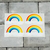 4 x Rainbow Stickers - Planner - Diary - Chase The Rainbow -  6641
