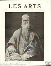 Picture Portrait Cardinal Quiroga El Greco National Gallery London  PLANCHE 1906
