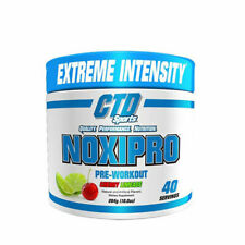 CTD Sports Noxipro Extreme Energy and Mental Focus Pre-Workout 40 Servings
