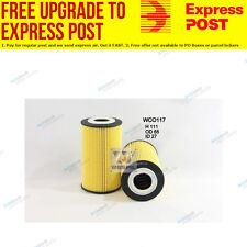 Wesfil Oil Filter WCO117 fits Porsche Boxster 2.7 (987),S 3.4 (987)