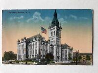 Buffalo City Hall New York Postcard 1915 Antique