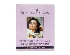 Shahnaz Husain 7 Step Skin Whitening Treatment Facial Kit, 48g+15ml