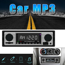 12V Bluetooth FM Car Stereo Audio AUX Input Receiver Remote SD Mp3 Radio Player
