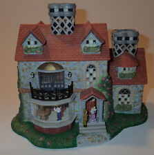 Partylite Olde World Village #3 Bristol House P7322 Tealight Candle Holder
