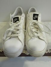 Nike Men's Classic White Leather Casual Shoe # 318333-103 (2009) Size 12